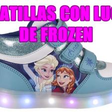 Zapatillas con Luces de Frozen
