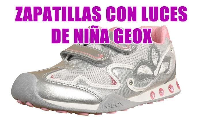 Luces Zapatillas Zapatillas Con Geox Con Niña wP0k8nO