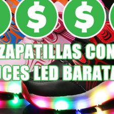 Comprar Zapatillas con luces LED baratas