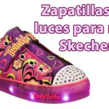 Comprar Zapatillas con luces niña Skechers