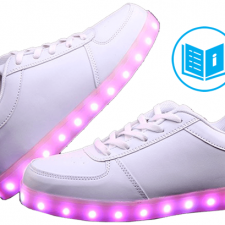Zapatillas con Luces Instrucciones