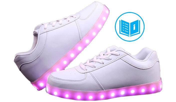 mejor selección la venta de zapatos construcción racional Zapatillas con luces instrucciones | 10Zapatillas.com