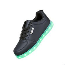 Angin-Tech LED Zapatos 7 Color de la Zapatilla con Luces de Deporte de Zapatos con la Carga del USB para el con el CE Certificado