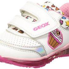 Geox B Todo Girl D, Zapatos de Primeros Pasos para Bebés