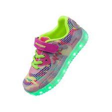 58f139aa Shinmax Primavera-Verano-Otoño Transpirable Zapatillas LED Nueva Led  Zapatos de Deporte de Zapatillas