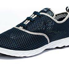 Viihahn Hombres Los Zapatos Del Agua De Malla Transpirable Con Cordones De Secado Rápido Del