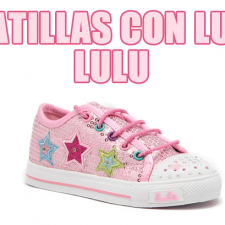Zapatillas con luces Lulu