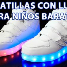 Comprar Zapatillas con luces para niños baratas