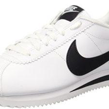 Nike Wmns Classic Cortez Leather, Zapatillas de Deporte para Mujer, Bianco, 36.5 EU