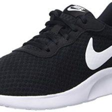 Nike Tanjun – Zapatillas para mujer, color negro / blanco