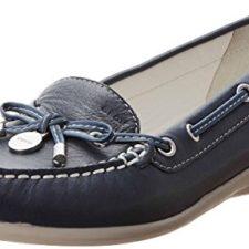 Geox Textil D YUKI A D3255A00043C4002 – Mocasines para mujer