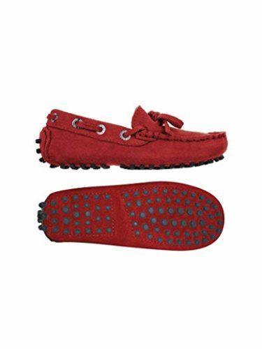 Superga 487-SUEJ S003380 – Zapatos de ante para niño